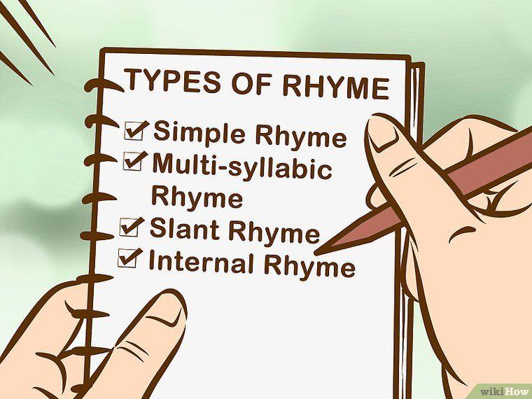 Write Lyrics to a Rap or Hip Hop Song Writing lyrics
