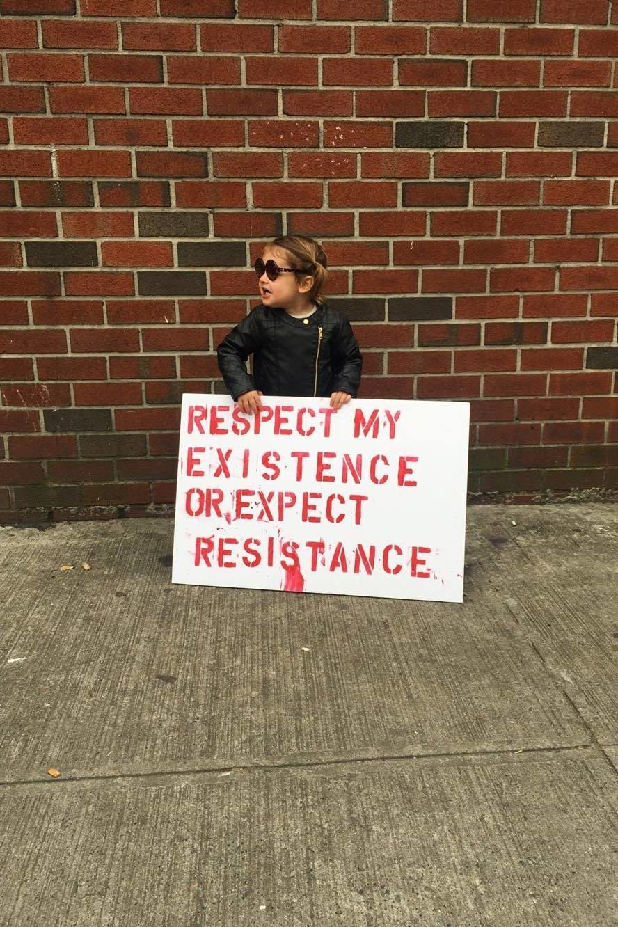 40 Inspiring Signs From the Women's March Feminist