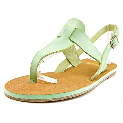 Cape Robbin AlmaFB9 Women US 7 Green Slingback Heel >>> You can get additional details at the image link.