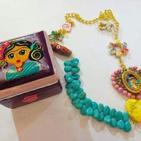#joyeria #fashion #jewelry #joyas #MariaFelix #bisuteria #accesorios #hechoamano #plata #instajewelry #collar #style #trendy #jewels #earcuff #handmade #love #artesania #Frida #fashionista #estilo #veracruz #puebla #pulsera #creacionart #Mexico Visita Facebook : Regalos Creacionart pedidos whatsapp 3331573407 www.creacionart.com