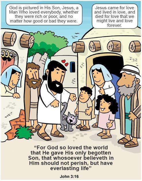 My Little House: March 2010   BIBLE: JESUS RAISES DEAD   Pinterest