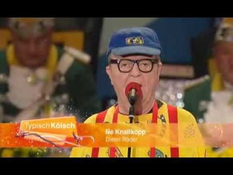 Ne Knallkopp alias Dieter Röder - Auftritt Karneval Köln 2014