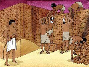 Isrealities bondage in egypt