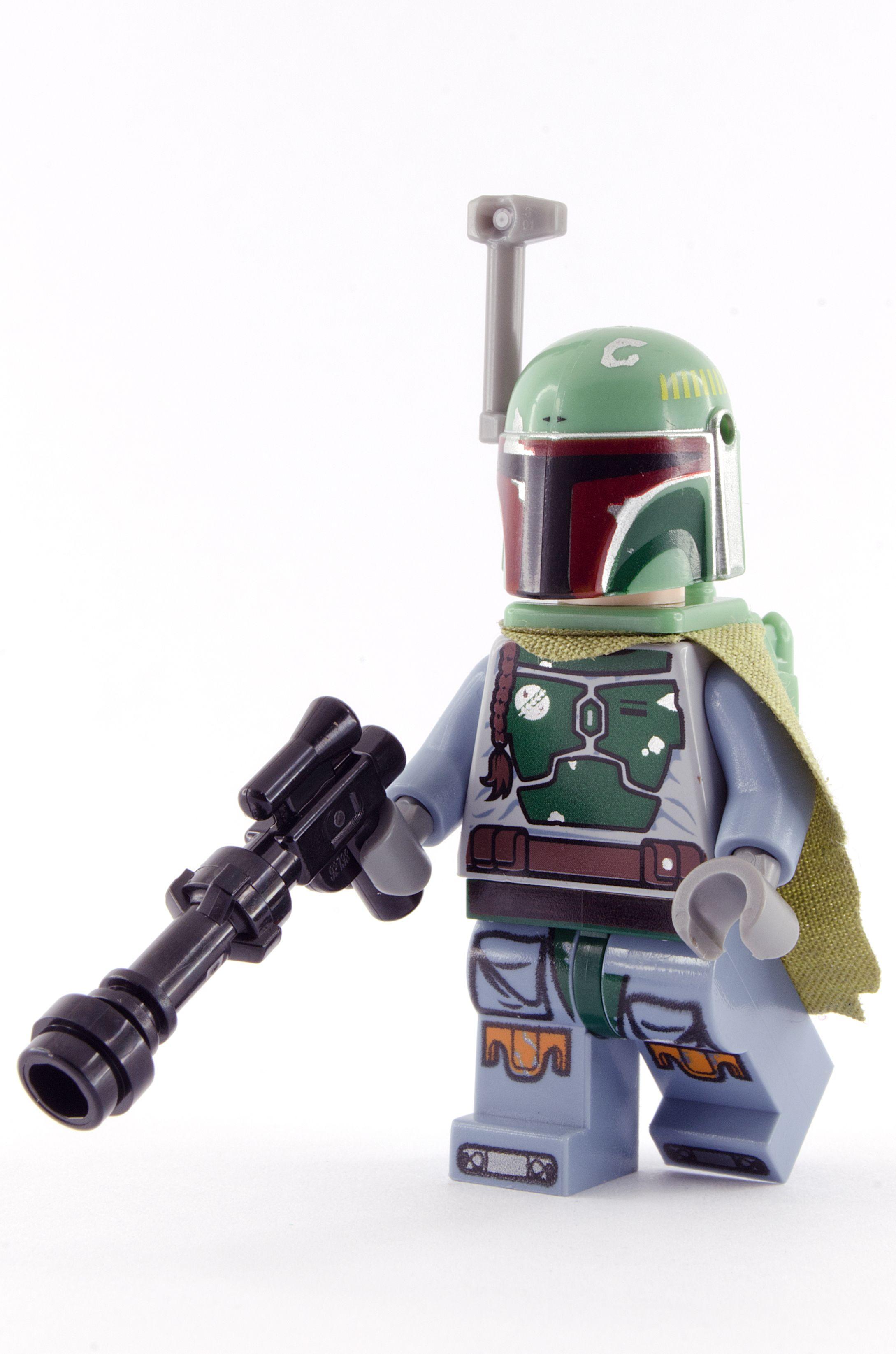 LEGO Star Wars: Boba Fett Mini Figurine Avec Blaster Rifle LEGO