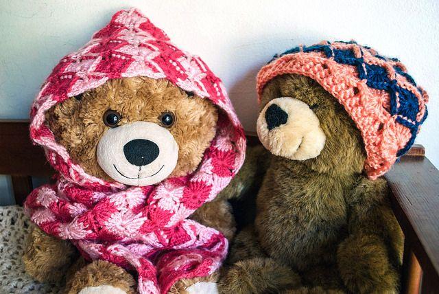 Crochet Kitten: Bavarian Hat & Scoodie Set - free child-adult ...