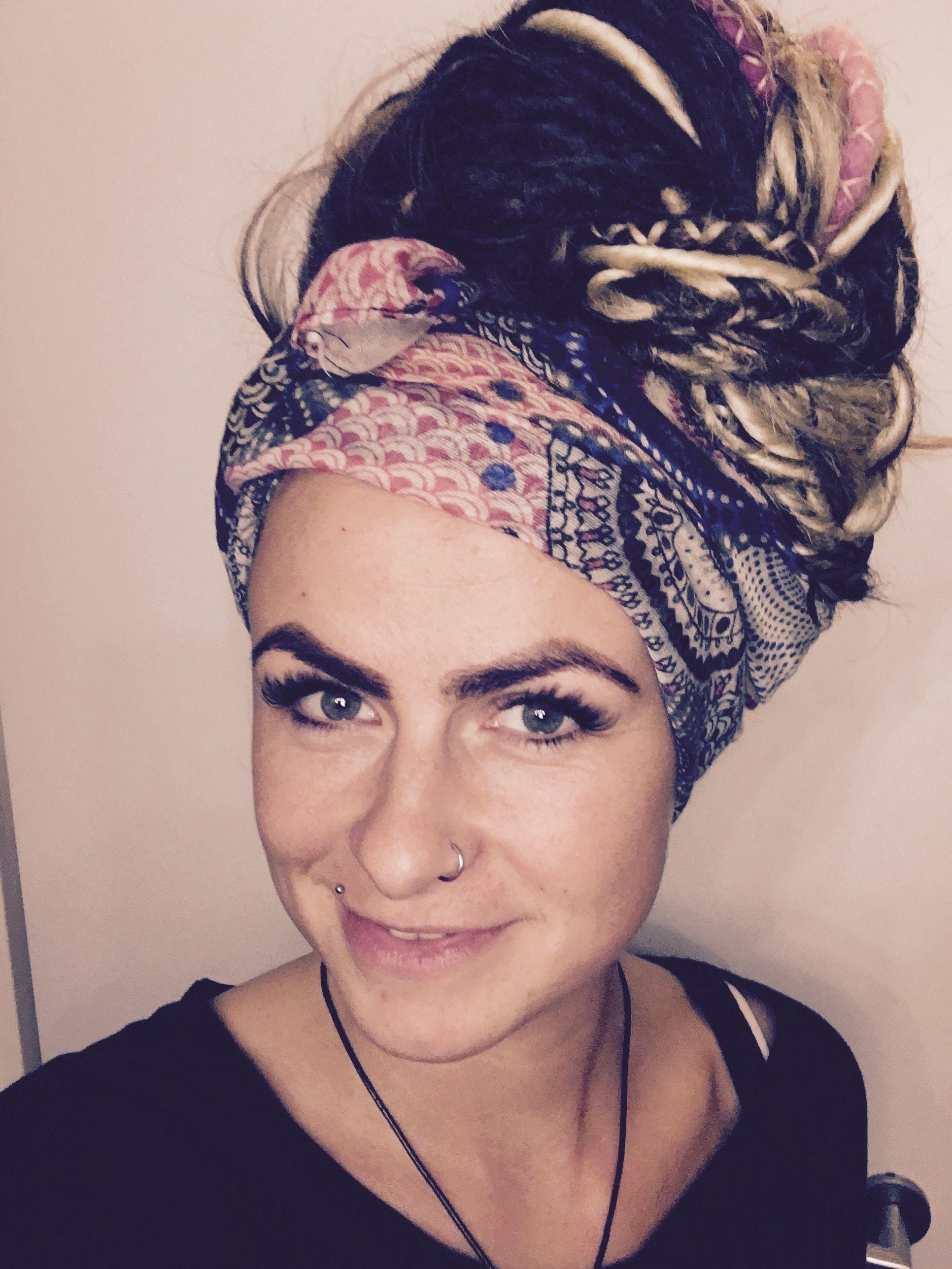 Dreads Tuch Dreadschmuck Von Alina Witt Bjutifull Hair In 2019