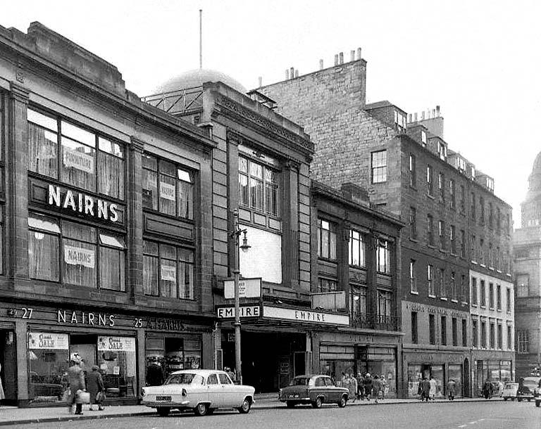 Empire Theatre, Nicolson Street, Edinburgh. (1957) Pic: EdinPhoto/TSPL.