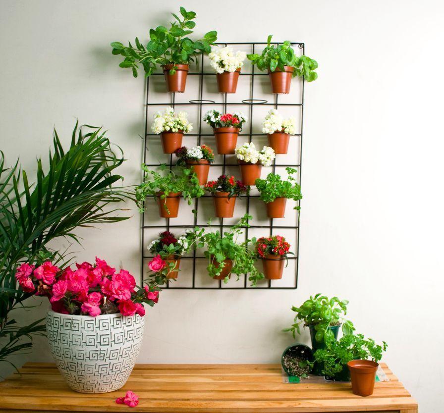 New Outdoor Indoor Living Wall Planters Vertical Garden Pots