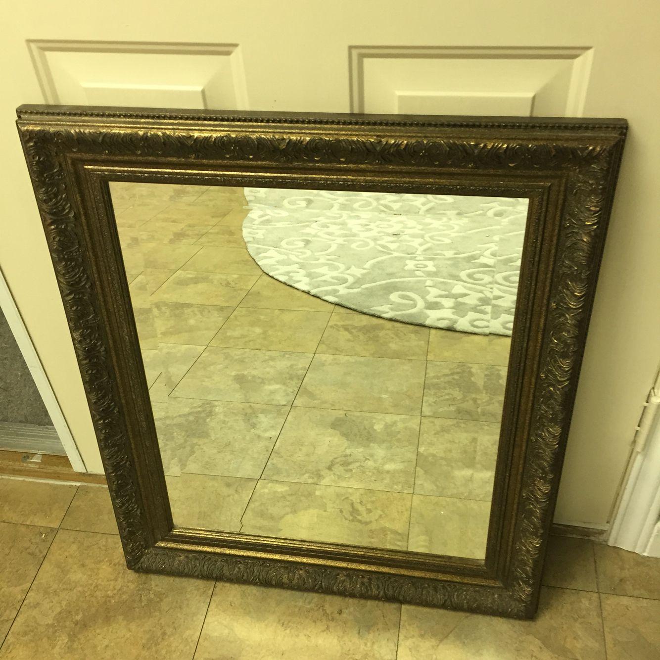 N I 26x26 Framed Mirror Wfi Mirror Frames Frame Decor