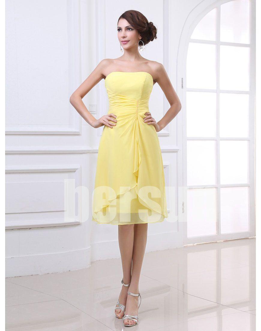 Bersun bandage dress 2013 new arrival Yellow Elegant ...