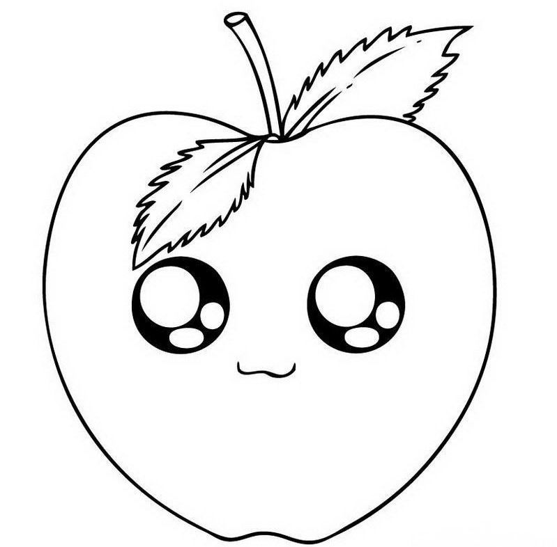 apple cartoon drawings yahoo image