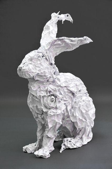 Admirable Le guide, sculpture papier   Sculptures papier, Dessin lapin PX-63