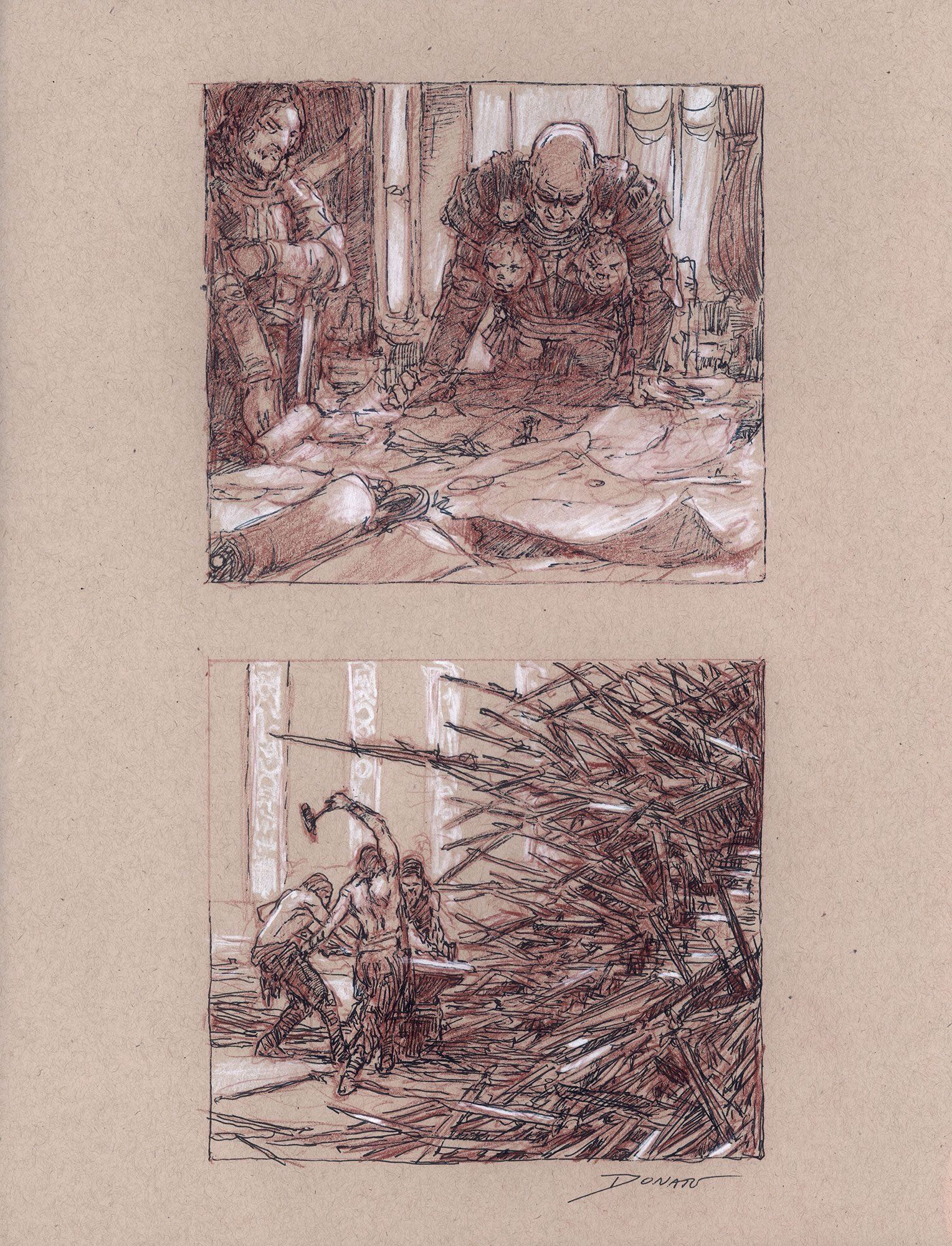 fire and ice sketches donato giancola donato giancola fire and ice sketches donato giancola