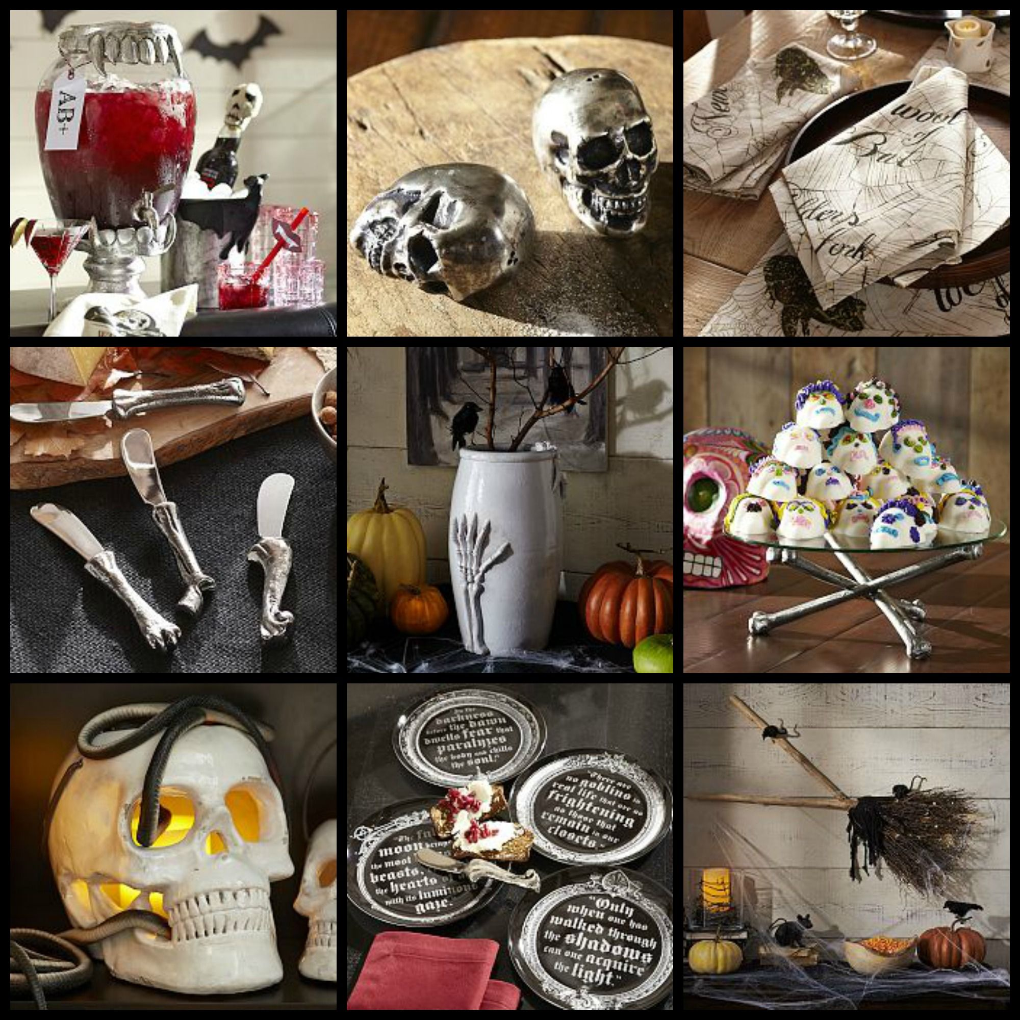Spooky Halloween Table Decorations Event19 Pinterest Halloween - Halloween Table Decorations Pinterest