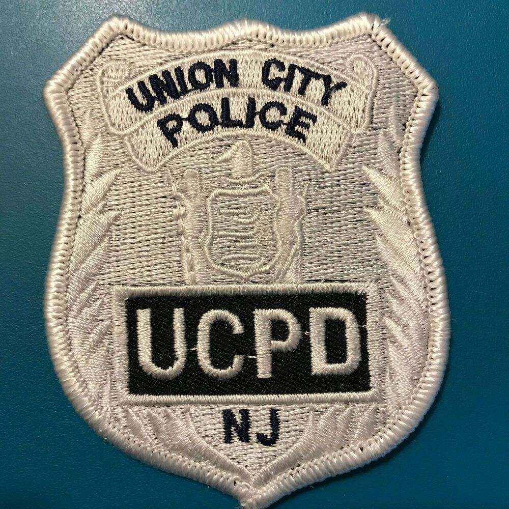 Union City Police Ucpd New Jersey Nj Patch Police Union City Patches For Sale