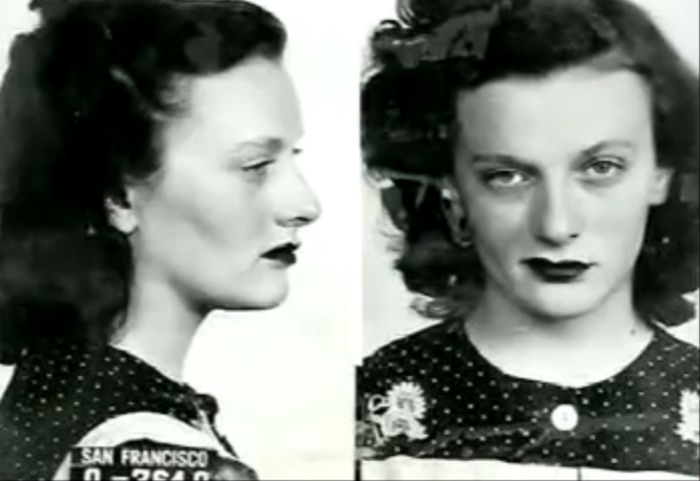 Streetwalkers Of San Francisco The Bold Italic San Francisco - 15 vintage bad girl mugshots from between the 1940s and 1960s