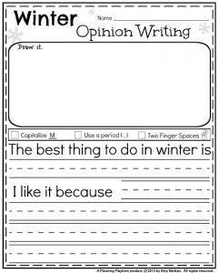 January Kindergarten Worksheets | January | Kindergarten writing ...