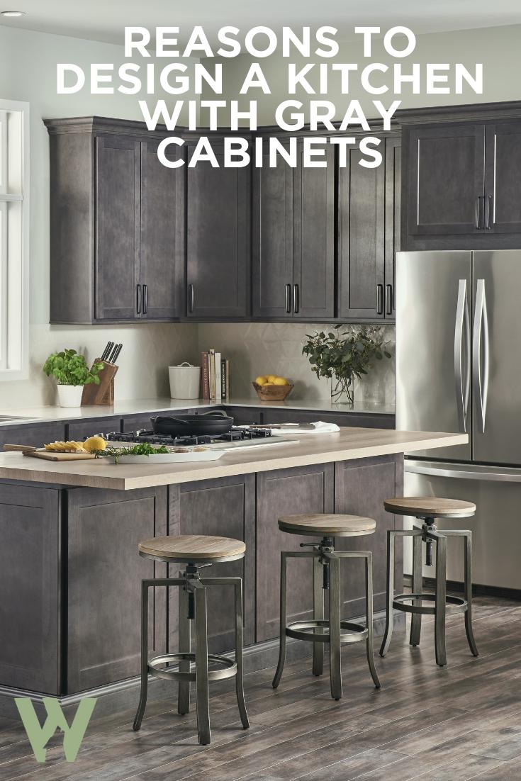 Reasons To Choose Grey Kitchen Cabinets Wolf Home Products Grey Kitchen Cabinets Contemporary Kitchen Design Grey Kitchen