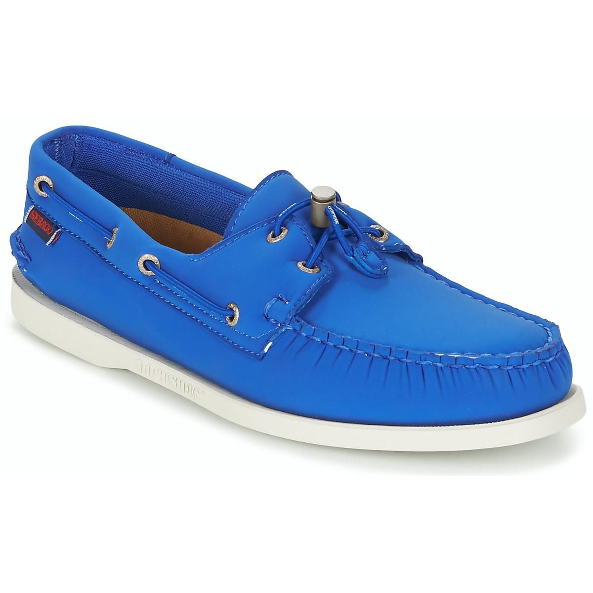 Herren Sebago Mokassins in Blau Modell 7000GA0