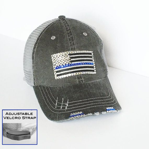 good looking 6c788 ff2f2 womens blue line patch - brandkikahani.com 02882641f