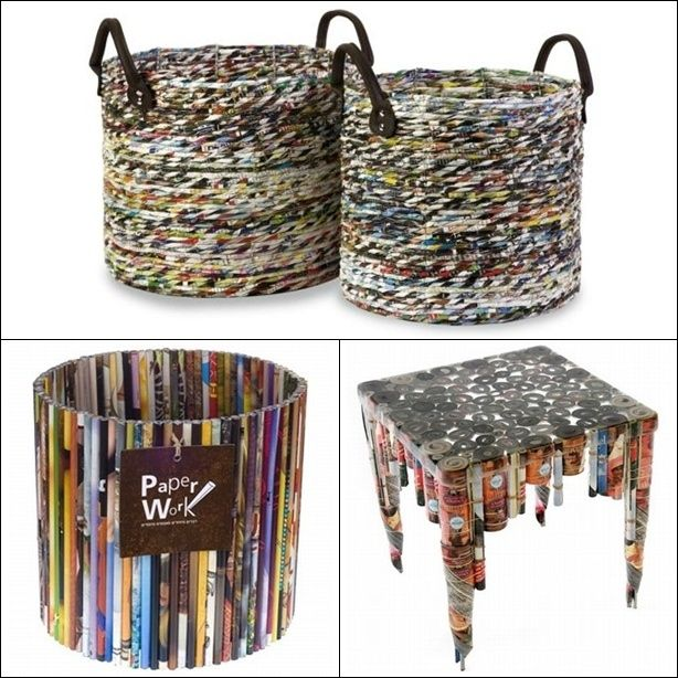 Recycling Home Decorating Ideas Part - 18: Recycled Home Decor Ideas 10