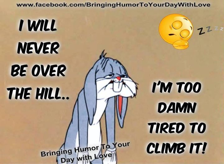 Over The Hill Funny Quotes Quote Funny Quote Funny Quotes Looney Tunes Looney Toons Age Bugs Bunny Humor Weird Quotes Funny Looney Tunes Funny Fun Quotes Funny