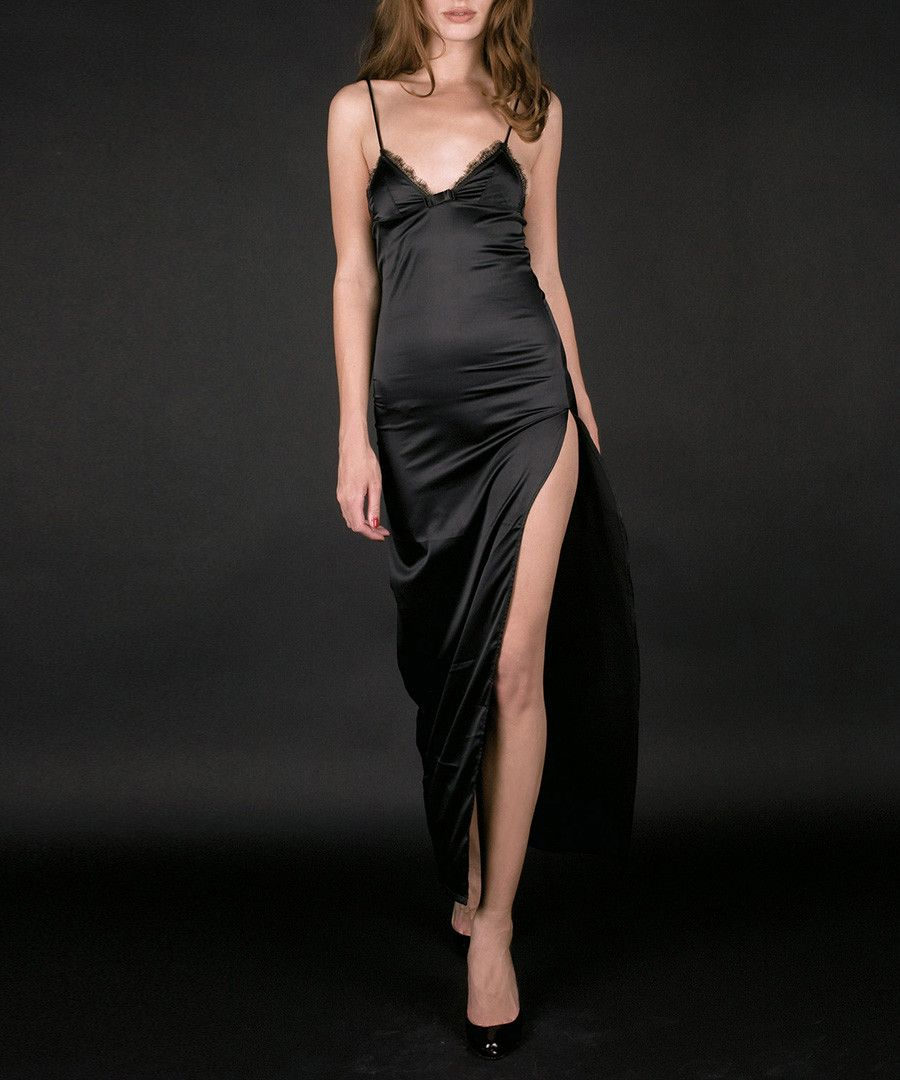 Black long dresses on sale