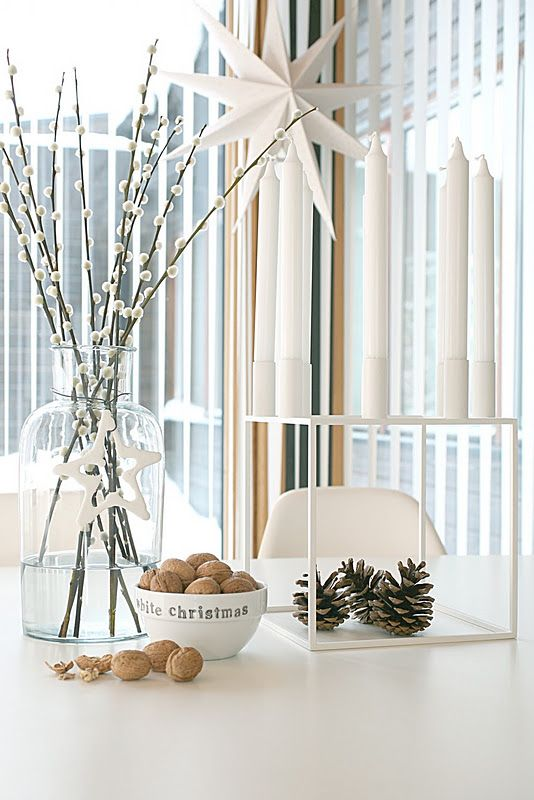 Simple holiday vignette #scandinavian