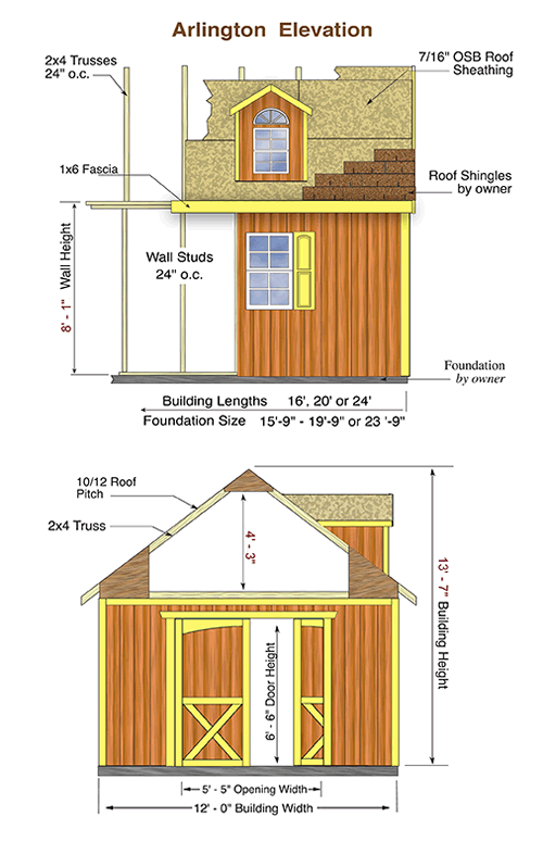 Best Barns Arlington 12x24 Wood Storage Shed Kit Storage Shed Kits Wood Shed Plans Wood Storage Sheds