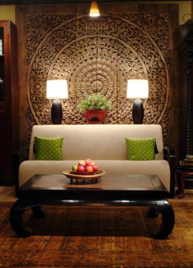Asian Living Room Wall Art Designs Ideas