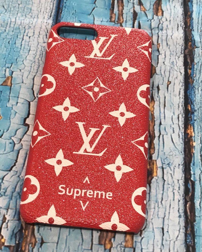 size 40 62489 a43cf LV Supreme phone hard case iphone 7 plus Louis Vuitton. Very pretty ...
