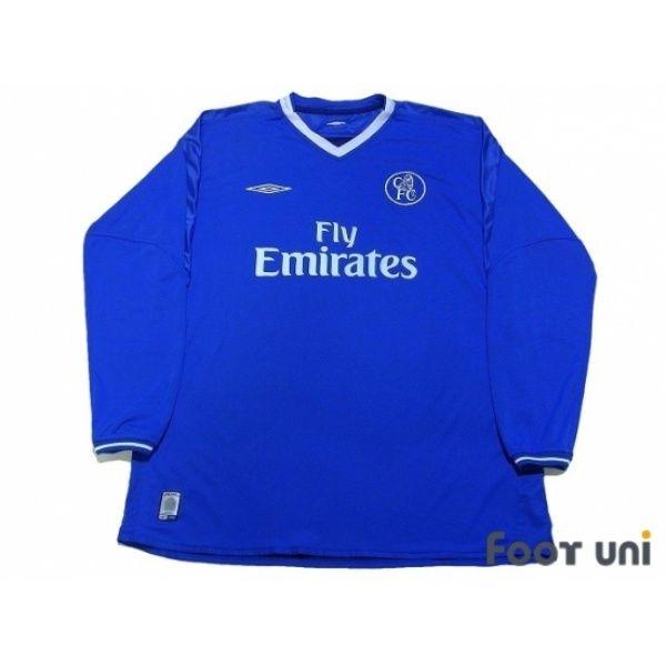 Photo1  Chelsea 2003-2005 Home Reversible L S Shirt umbro - Football Shirts 5c1e96075