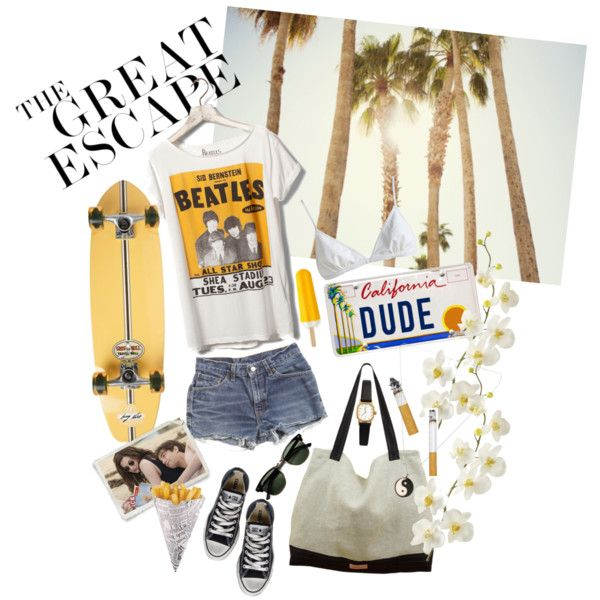 """in the summertime"" by talietalie on Polyvore"