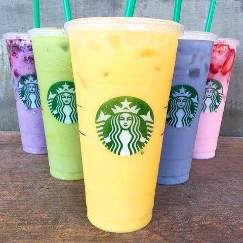 How to Order Each of Starbucks' Rainbow Drinks