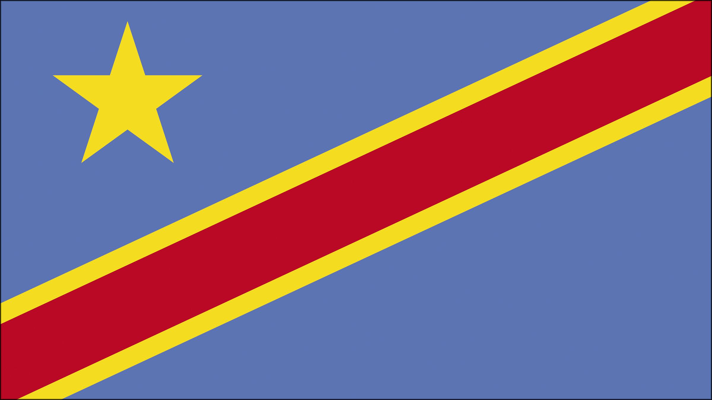 Bandera De La República Democrática Del Congo Banderas Del Mundo Republica Democratica Del Congo Banderas