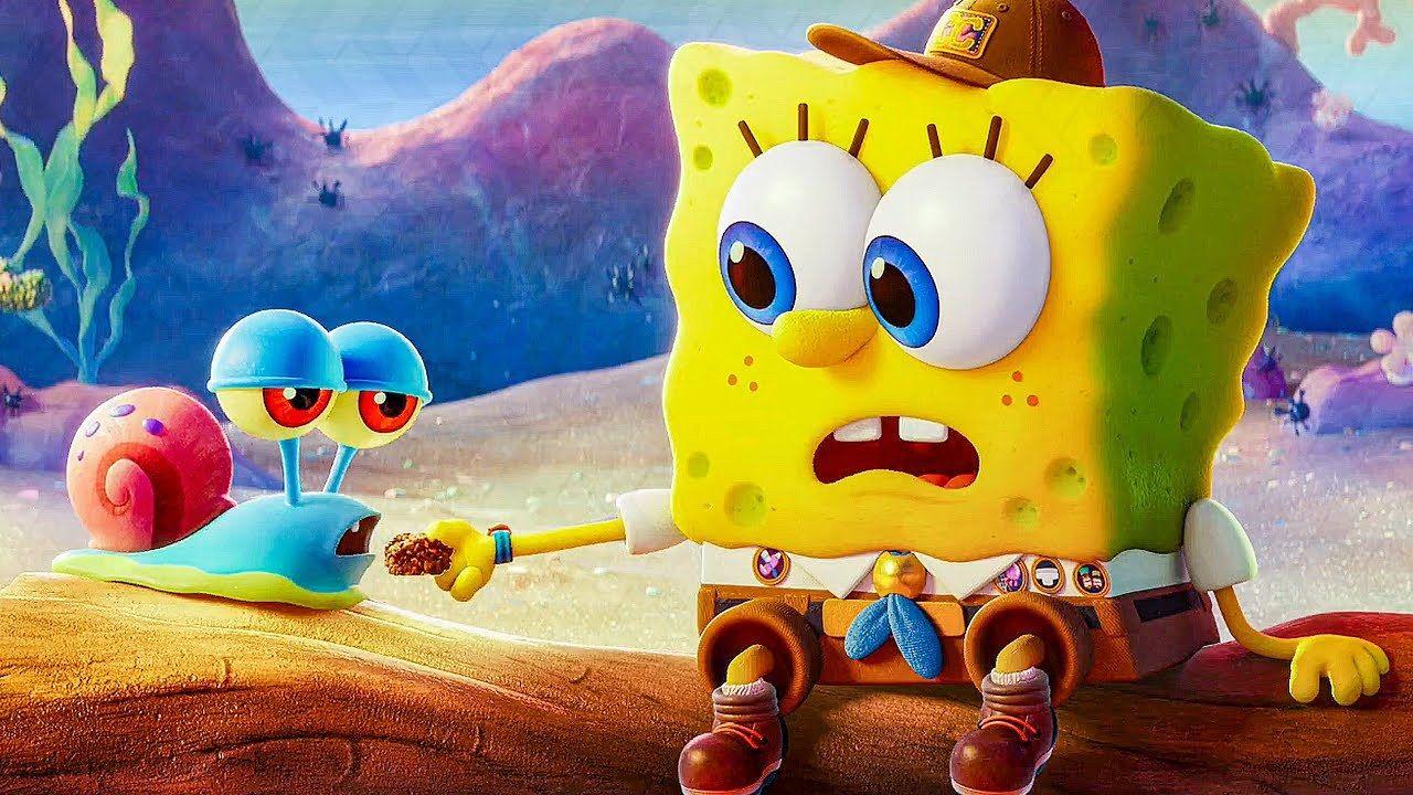 The Spongebob Movie Sponge On The Run The Game Of Nerds Spongebob Spongebob Wallpaper Cartoon Wallpaper
