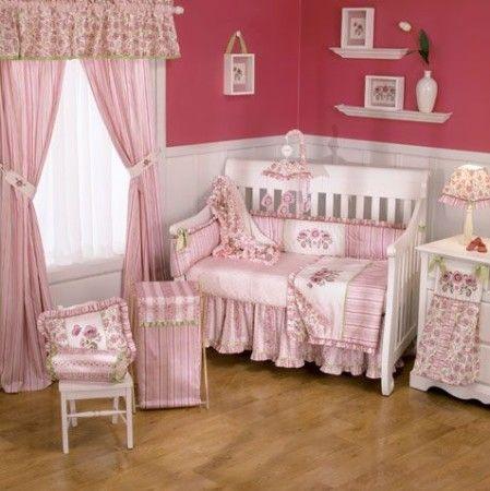 decoracion para cuartos de bebes mujeres-12770 Bebe Pinterest
