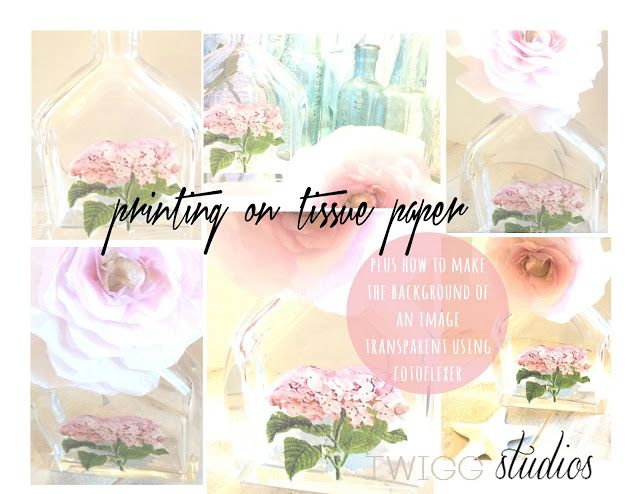 ..Twigg studios: printing on tissue paper tutorial