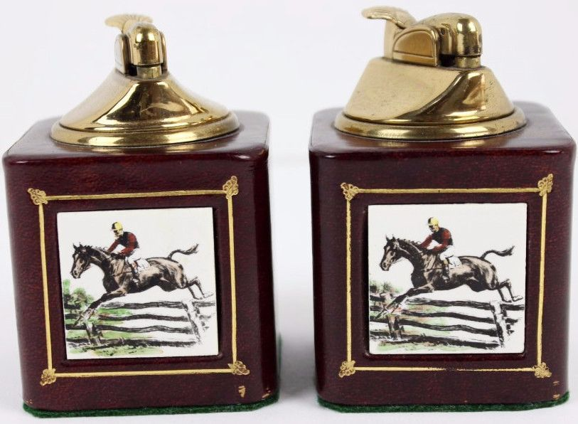 Pair of Steeplechase Lighters