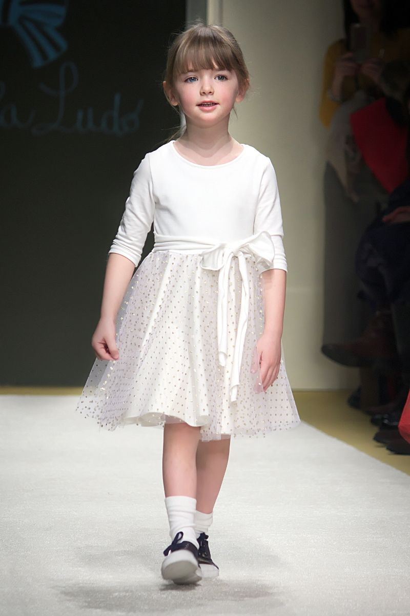 Transparent dress fashion show pics for kids