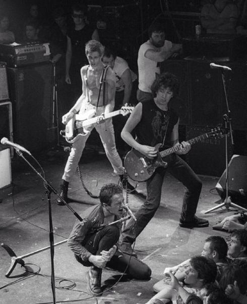 Joe Strummer, Paul Simonon and Steve Jones (Sex Pistols)