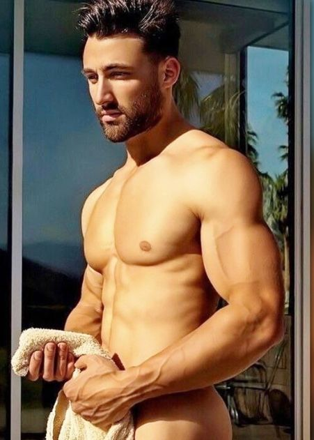 muscle men sexy Hot