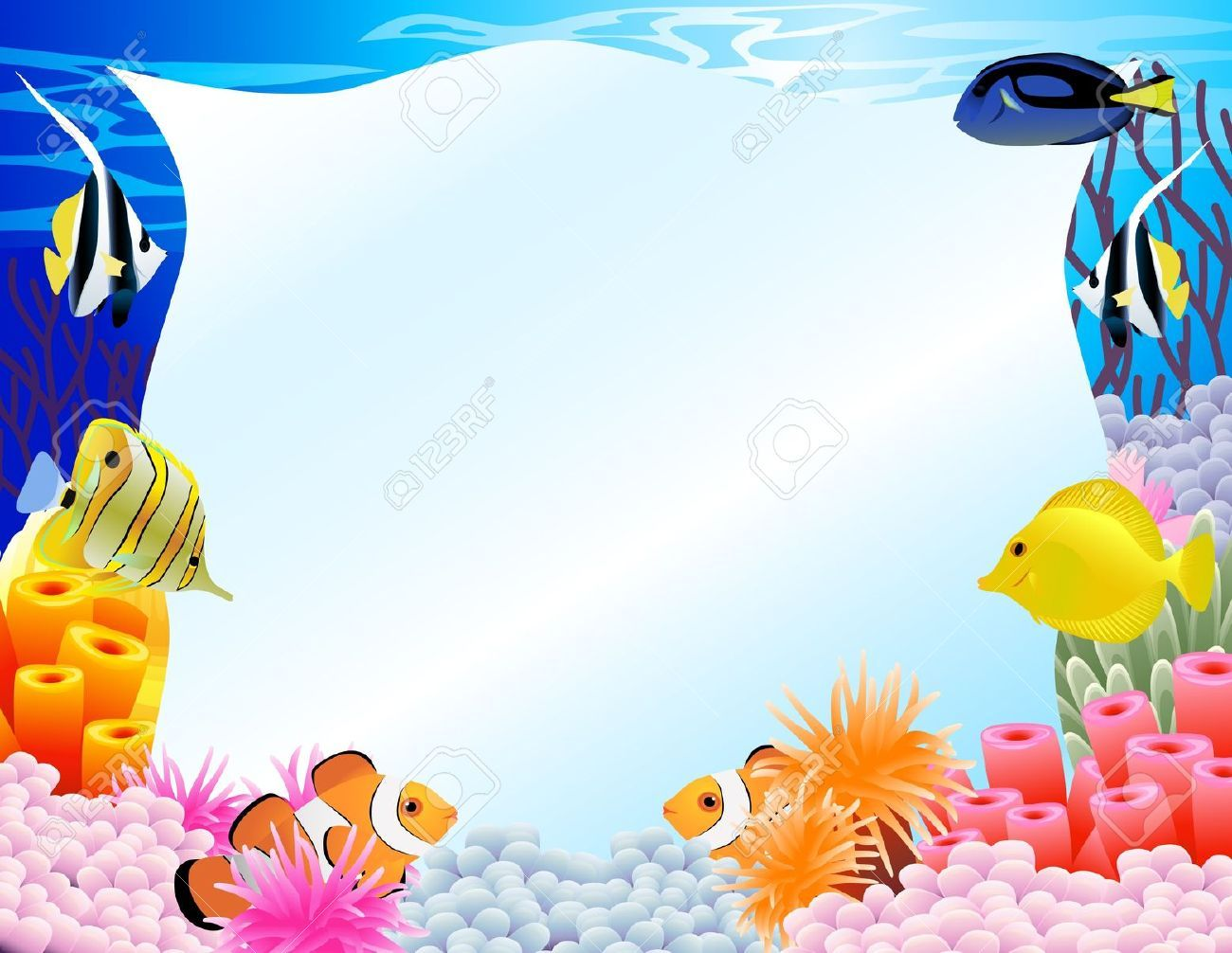 7 139 Under The Sea Stock Sea Clipart Under The Sea Clipart Clip Art
