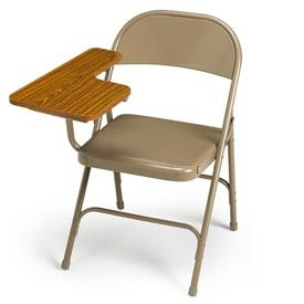 Marvelous Ki Steel Folding Chairs With Writing Tablet Arm Lecture Alphanode Cool Chair Designs And Ideas Alphanodeonline