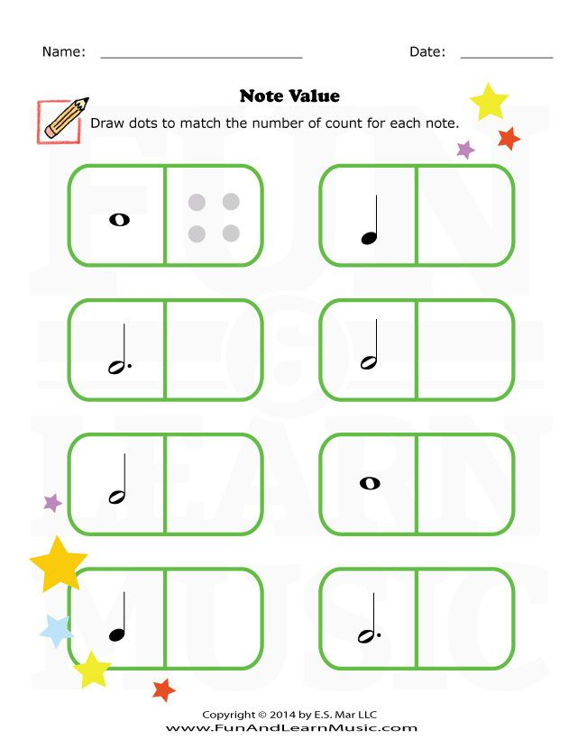 Note Value - SproutBeat | Notating & Reading Music // | Pinterest ...