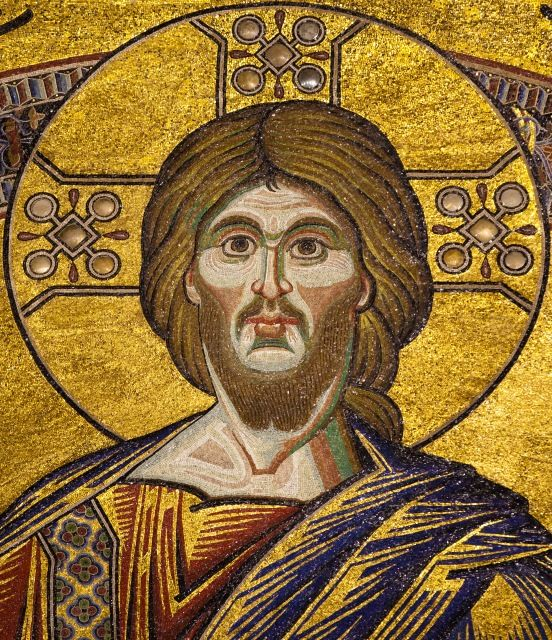 Ceiling Mosaic Christ in Majesty (Detail) Florence