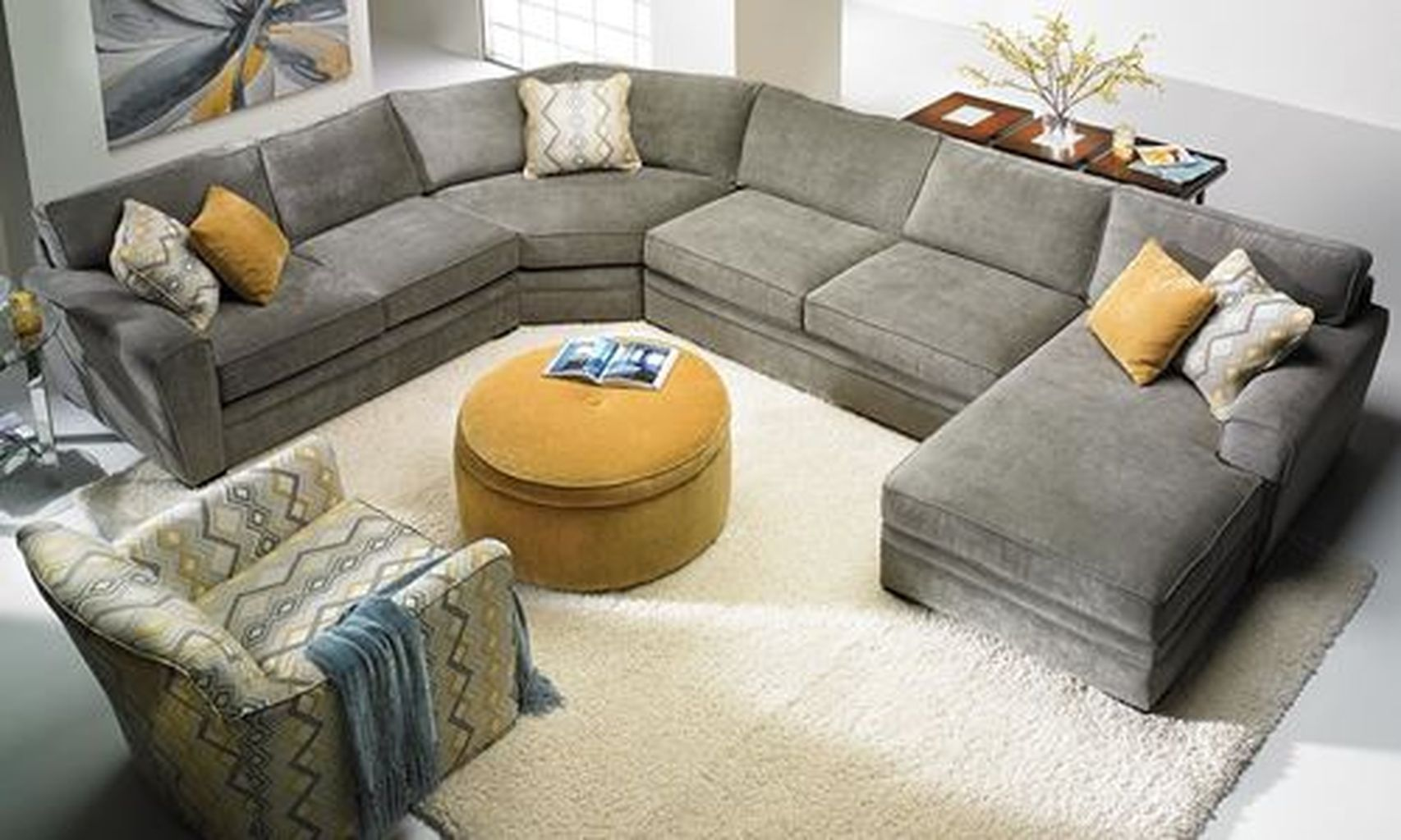 Cool 30 Stunning Deep Seated Sofa Sectional To Makes Your Room Get Luxury Touch Http