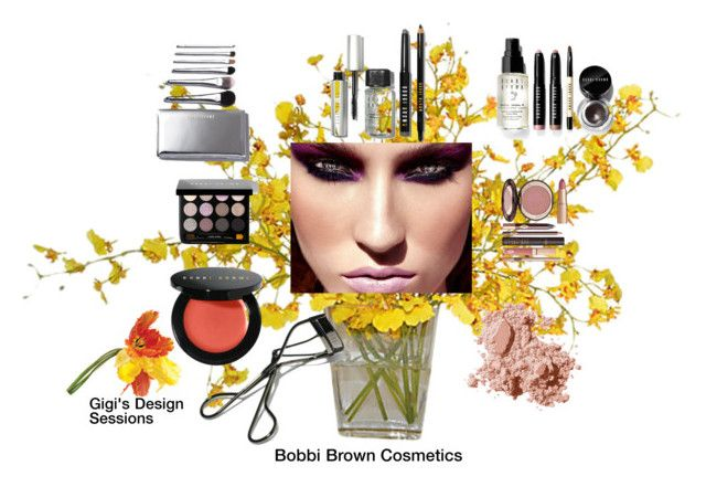 """""""Bobbi Brown Cosmetics"""" by gigi-sessions on Polyvore featuring beauty, Charlotte Tilbury, Bobbi Brown Cosmetics and Universal Lighting and Decor"""