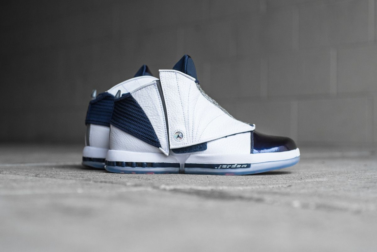 new styles af431 cb6ce Air Jordan 16 Retro  Back in OG Midnight Navy - EU Kicks Sneaker Magazine