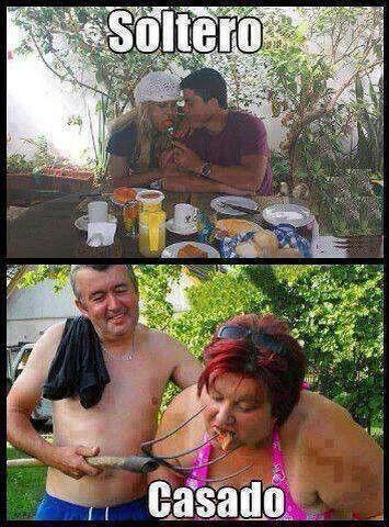Memes de solteros vs casados